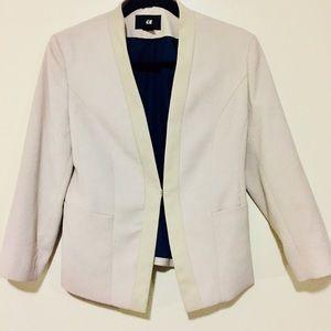 Light beige H&M blazer